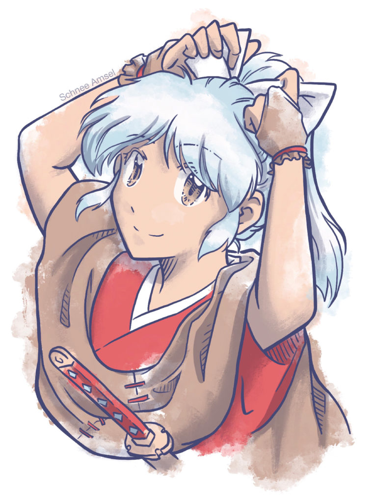 Moroha ~ daughter of Inuyasha in Hanyo no Yashahime